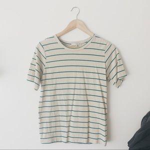 Oak + Fort Striped Shirt